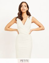 Lipsy Petite Pu Panel Bodycon Dress