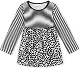 First Impressions Baby Girls' Long-Sleeve Stripes & Dot-Print Tunic, Only at Macy's
