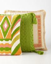 Trina Turk Capistrano Mandarin Embroidered Pillow