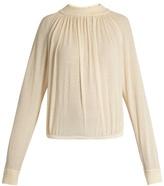Lemaire Cotton-blend crepe sweater