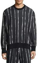 3.1 Phillip Lim Boxy Striped Sweatshirt