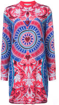 Mary Katrantzou embroidered shirt dress - women - Silk - 8