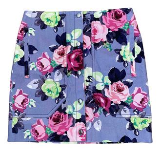 Carven Purple Cotton Skirts