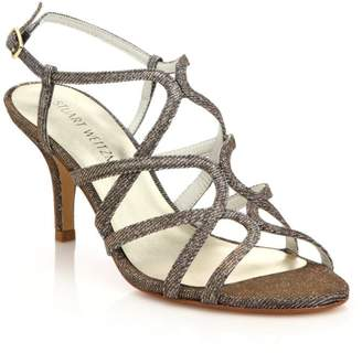 Stuart Weitzman TurningUp Metallic Sandals