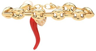 Timeless Pearly 24-Kt Gold-Plated Charm Bracelet