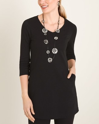 Chico's Chicos Front-Pocket Tunic