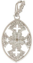 Armenta Diamond New World Maltese Cross Pendant
