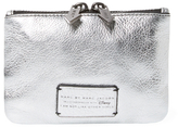 Marc by Marc Jacobs Alice Shine Metallic Leather Small Pouch