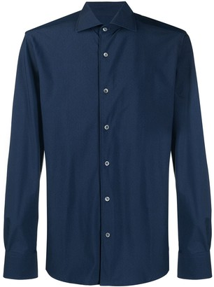 Corneliani Short-Collar Longsleeved Shirt