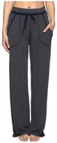 Hard Tail Wide Leg Pajama Pants Women's Casual Pants