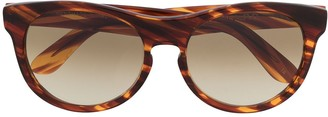 L.G.R Havana round sunglasses