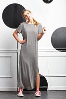 Shabby Apple Playmaker Maxi Dress Grey