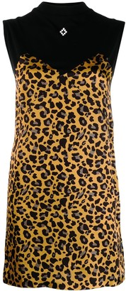 Marcelo Burlon County of Milan Cross County leopard dress
