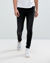 Cheap Monday Him Spray Jean Black Sin