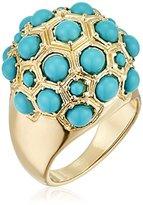 BCBGeneration Turquoise Ball Ring, Size 7