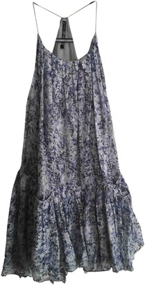 Theyskens' Theory Blue Cotton Dress for Women