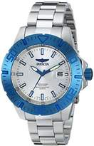"""Invicta Men's 14051SYB """"Pro Diver"""" Blue-Tone Stainless Steel Watch"""