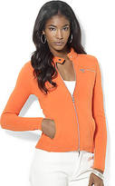 Lauren Ralph Lauren Full-Zip Moto Jacket