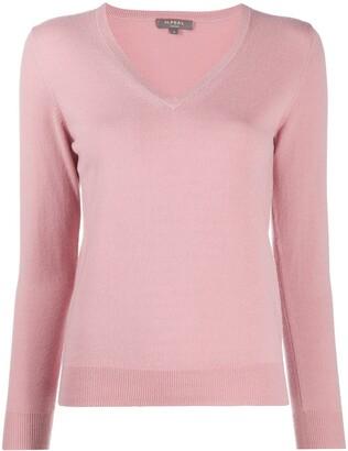 N.Peal V-neck cashmere jumper