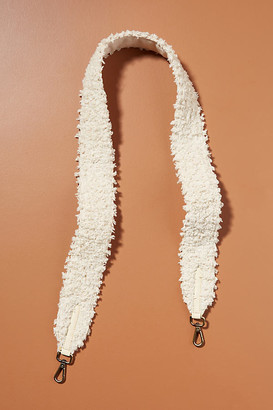Anthropologie Pearl Embellished Bag Strap By in White Size ALL