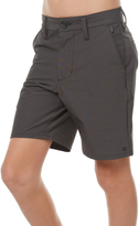 Billabong Kids Boys New Order X Twill Zip Walkshort Black