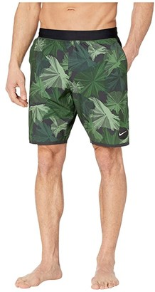 Nike 9 Global Camo Blade Volley Shorts (Galactic Jade) Men's Swimwear