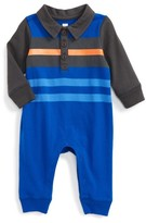 Tea Collection Infant Boy's Speirs Wharf Polo Romper