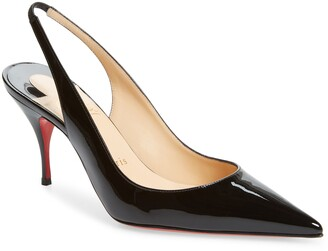 Christian Louboutin Clare Pointed Toe Slingback Pump