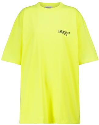 Balenciaga Oversized cotton T-shirt