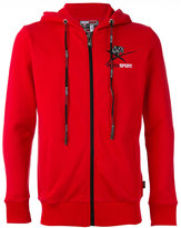 Plein Sport - Sander hoodie sweat jacket - men - Cotton - S