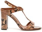L'Autre Chose Lautre Chose LAutre Chose Python Print Sandals