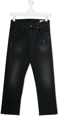Diesel Embellished Skinny Jeans