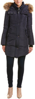 Mackage Eillen Leather-Trim Down Coat