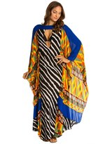 Indah Asante Printed Maxi Kaftan Cover Up 8132249