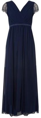 Dorothy Perkins Womens **Showcase Petite Bridesmaids Navy 'Athena' Maxi Dress, Navy