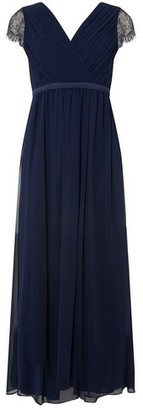 Dorothy Perkins Womens Showcase Petite Bridesmaids Navy 'Athena' Maxi Dress, Navy