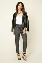 Forever 21 FOREVER 21+ Contemporary Self-Tie Pants