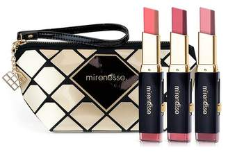 Mirenesse All Stars Maxi-Tone Lip Bar (4-Piece Set) and Diamonds Bag