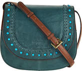 Tignanello As Is Vintage Leather Saddle Bag