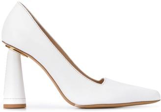 Jacquemus cone heel pumps