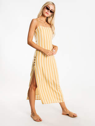 Amuse Society Hidden Cove Woven Maxi Dress in Ginger