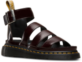 Dr. Martens Cherry Red Clarissa II Faux Leather Sandal - Women