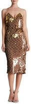 Dress the Population Nina Sequin Midi Slip Dress