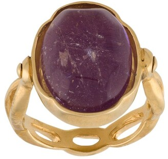 Goossens oval Cabochons ring