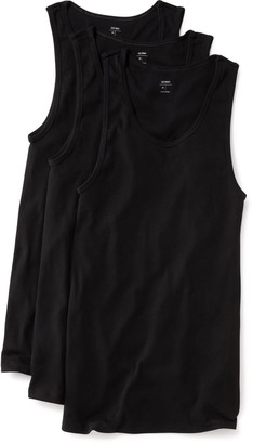 Old Navy Go-Dry Soft-Washed Rib-Knit Tanks 3-Pack for Men