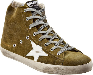 Golden Goose Francy Suede High-Top Sneaker