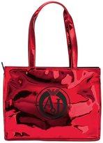 Armani Jeans metallic medium shoulder bag