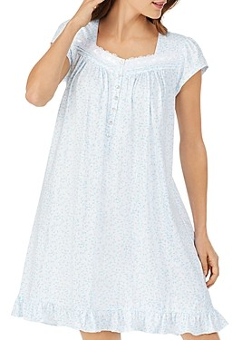 Eileen West Cotton Printed Nightgown