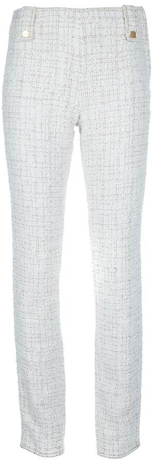 Chanel tweed trouser