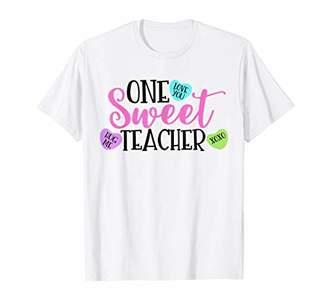 XOXO One Sweet Teacher Valentine's Day Gift Hug Love T-Shirt